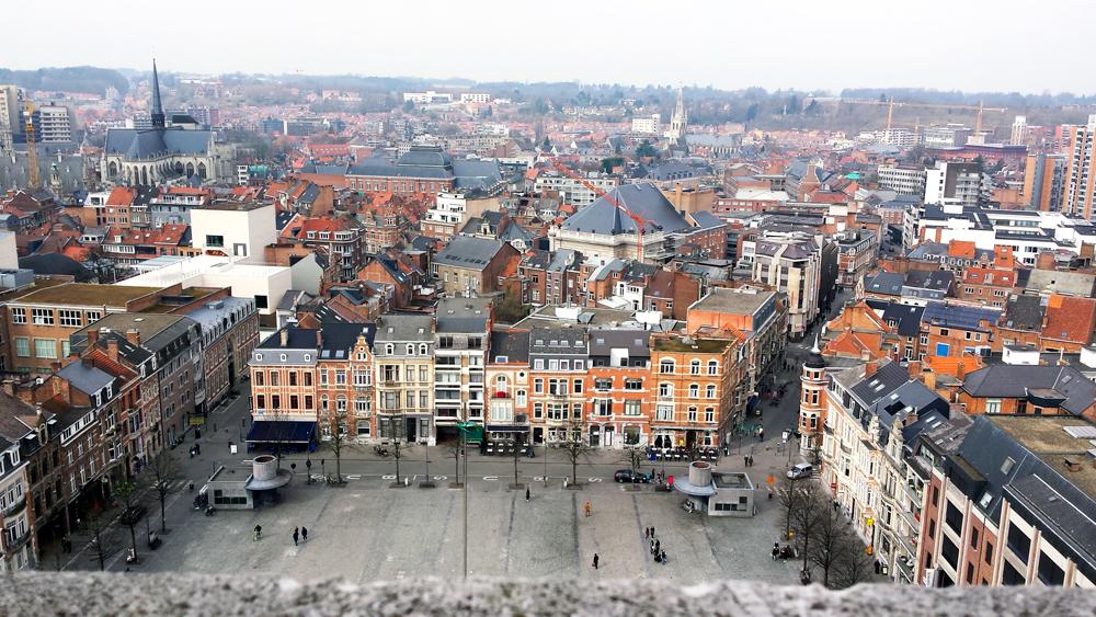 Wat te doen in Leuven: de bibliotheektoren beklimmen
