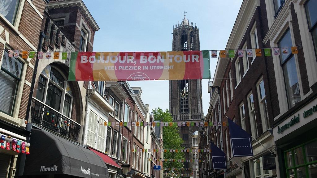 grand depart in Utrecht