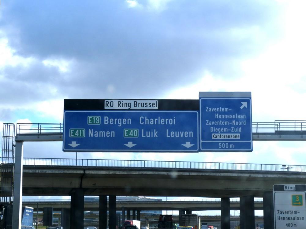 Belgische snelweg