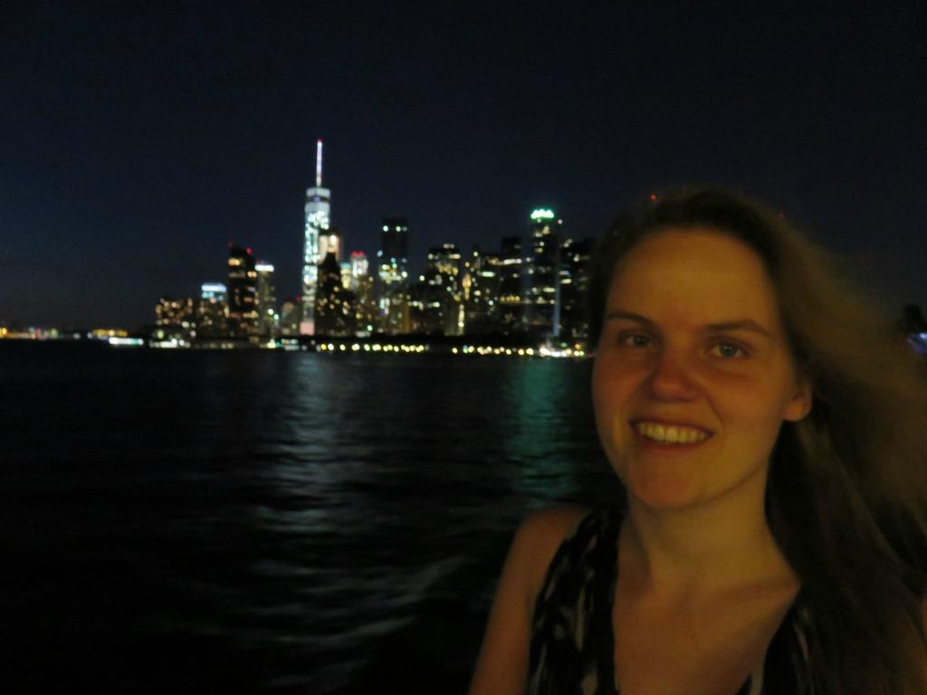 Staten Island Ferry by night