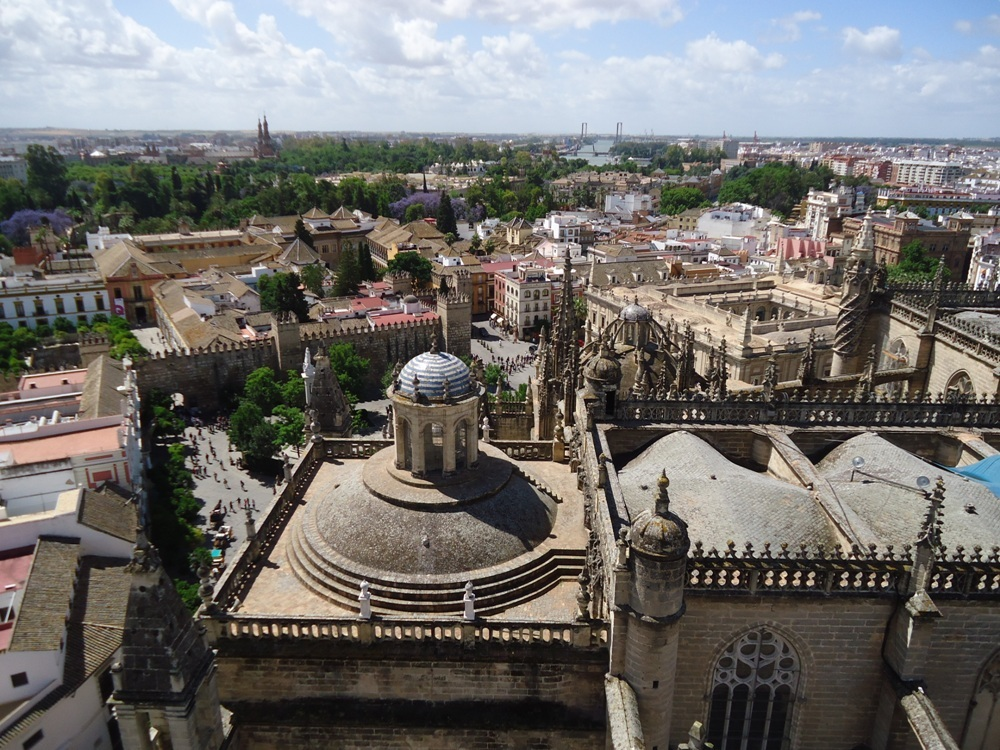Sevilla vanaf Giralda toren photo Sevilla1.jpg
