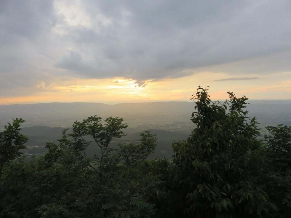 photo shenandoah zonsondergang.jpg