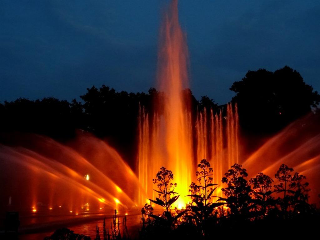 Planten un Blomen fonteinenshow