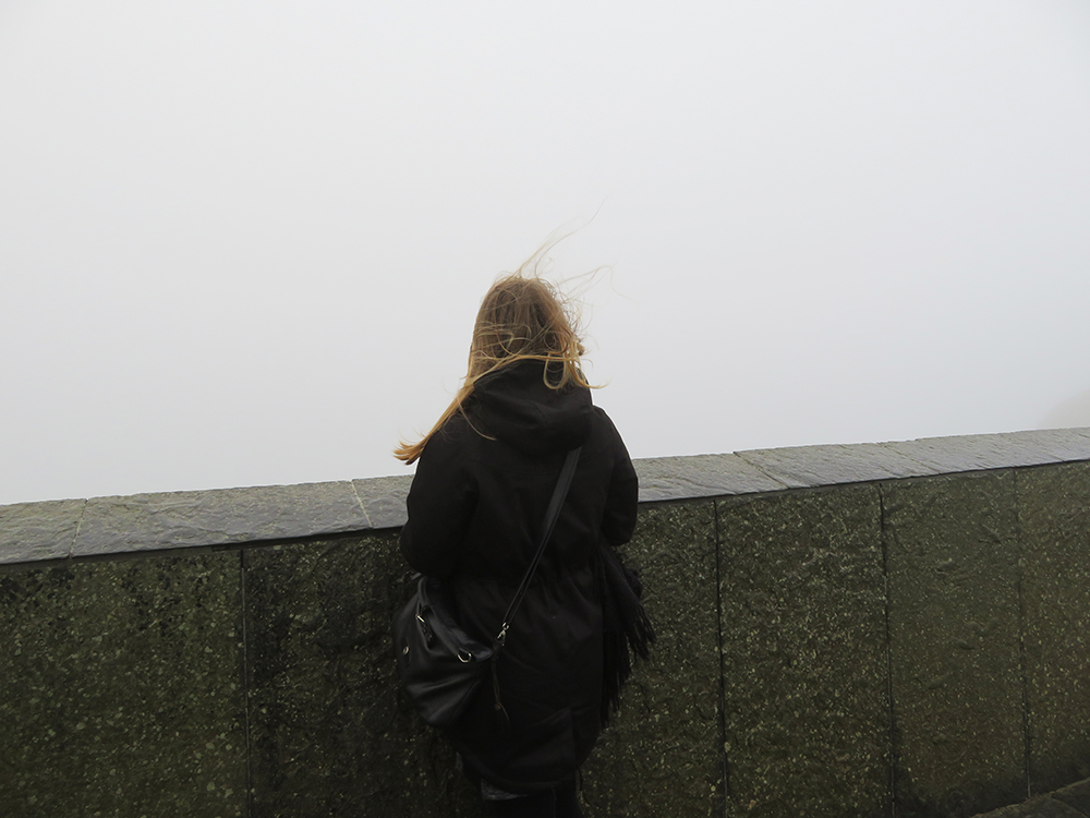 Cliffs of Moher in de mist