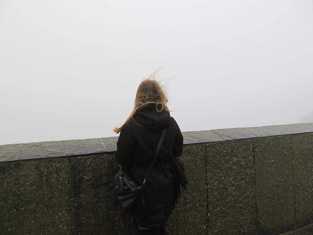 Cliffs of Moher in de mist