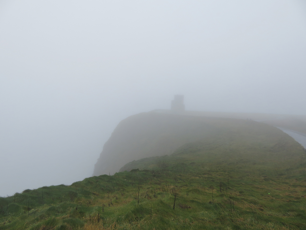 Cliffs of Moher mist
