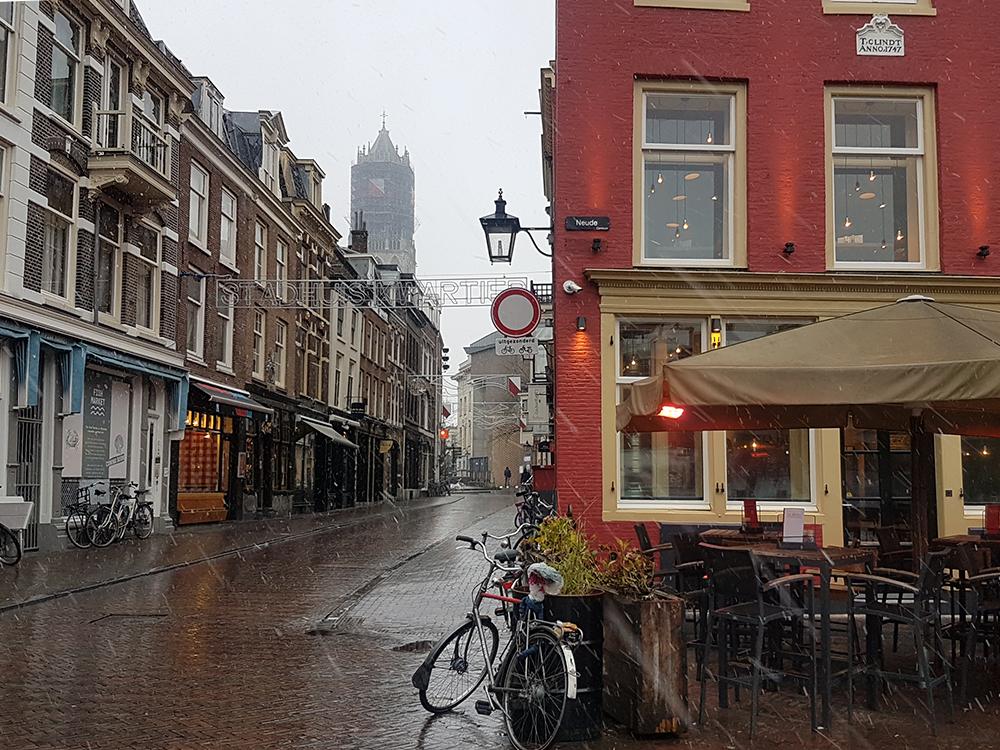 Utrecht sneeuw