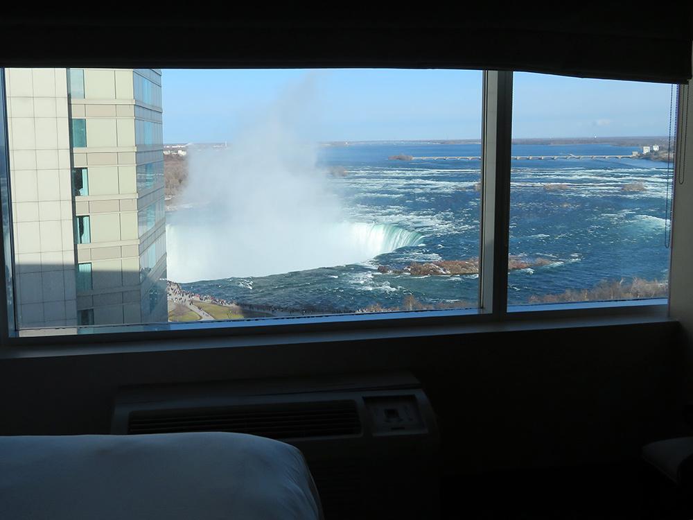 Hotel met fallsview of niet?