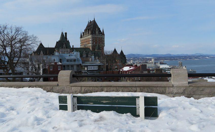 Lente in Quebec
