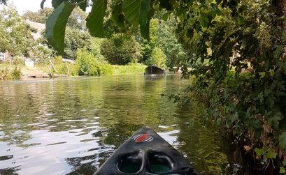 Kanoën Rijnsweerd Utrecht