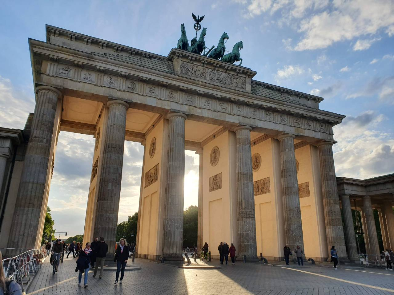 Brandenburger Tor in Berlijn