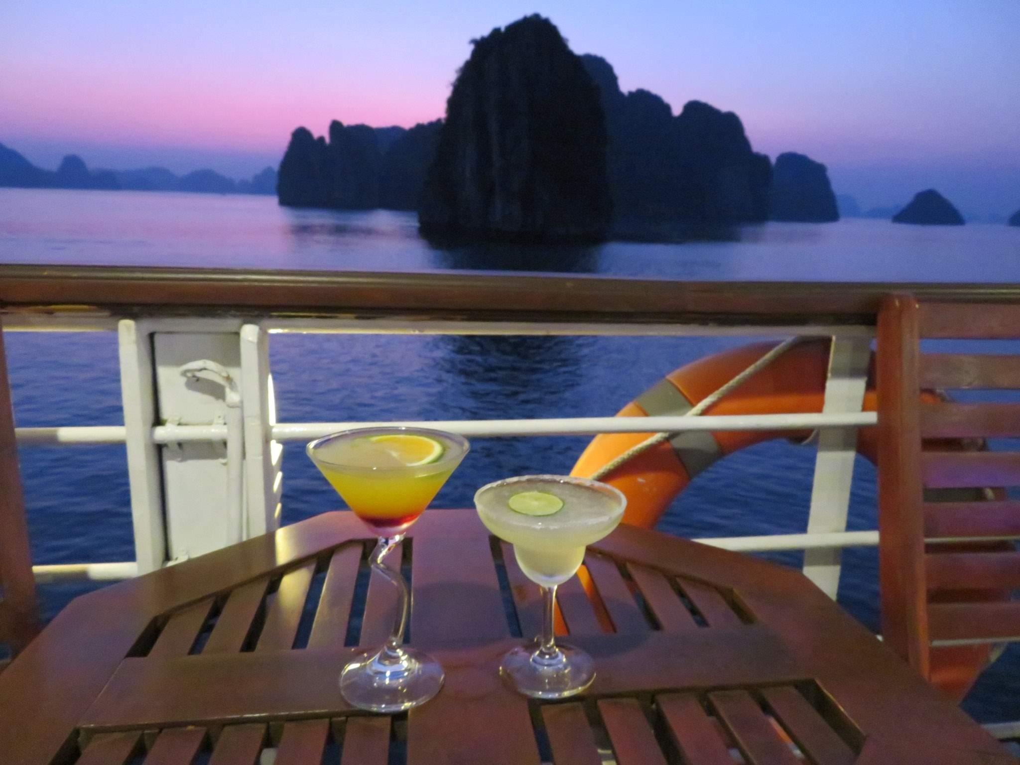 Ha Long Bay cocktails